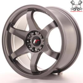 JR-Wheels JR3 Gun Metal 17 Inch 9J ET20 5x100/114.3
