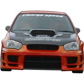 Chargespeed Motorkap passend voor Subaru Impreza GDB (C/D/E) + Luchtinlaten (FRP)