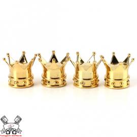 Kroon Ventieldoppen Goud