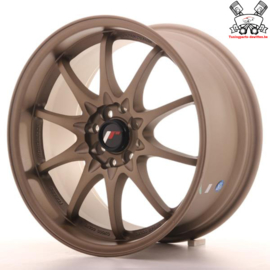 JR-Wheels JR5 Dark Anodize Bronze 17 Inch 8.5J ET35 4x100/114.3