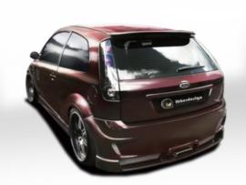 "Rear Bumper Ford Fiesta V ""RIOT"" iBherdesign"
