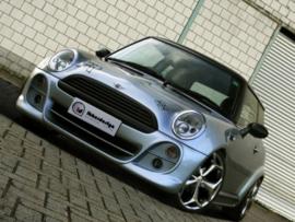 "Front Wheel Arches Mini Cooper ""BRUTUS WIDE"" iBherdesign"