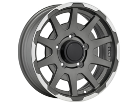 Sparco Dakar Wheels Flat Dark Graphite With Polished Lip