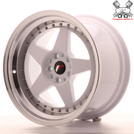 JR-Wheels JR6 White 18 Inch 10.5J ET25 5x114.3/120