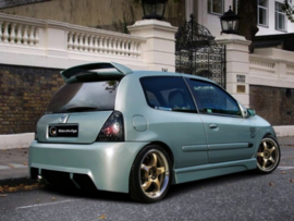 "Rear Bumper Renault Clio II ""KOMBAT_EVO"" iBherdesign"