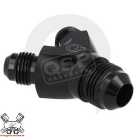 Alu Y adapter 3x male D04 - Black