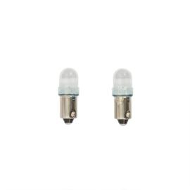 BA9S LED Lampen 12V Super Wit, set à 2 stuks