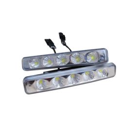 Set Universele Dagrijdlampen (DRL) - 4W Spot Light LED - 192x32x41,5mm - incl. E-Keurmerk