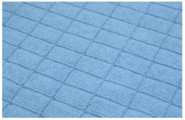 Microvezel droogdoek 65x50cm blauw
