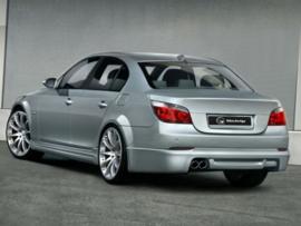 "Rear Bumper spoiler BMW E60 ""RAVEN"" iBherdesign"