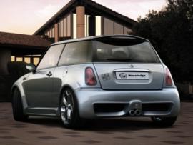 """Rear Bumper Mini Cooper """"BRUTUS WIDE"""" iBherdesign"""