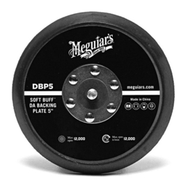 Meguiars Soft Buff Backing Plate 5'' voor Dual Action Polisher