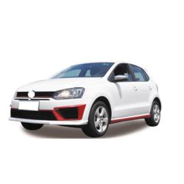 AutoStyle Complete ombouwset passend voor Volkswagen Polo 6R 2009-2014 'R400-Look' incl. Grills (PP)