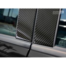 B-Stijl lijsten passend voor Mercedes-Benz A-Klasse W169 Hatchback 5-Deurs 2008-2012 Zwart Carbon