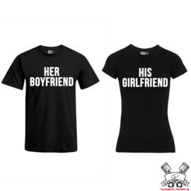 T-shirt Her Boyfriend & His Girlfriend