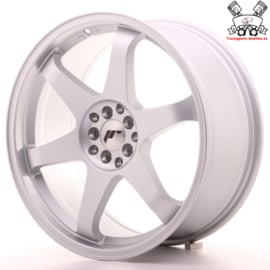 JR-Wheels JR3 Flat Silver 19 Inch 8.5J ET35 5x100/120