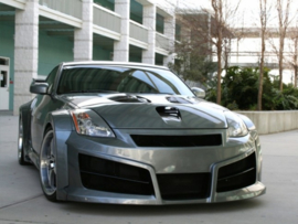 "Front Wheel Arches Nissan 350Z ""HAVOC WIDE"" iBherdesign"