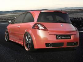 "Rear Bumper Renault Megane II ""VEGA EVO"" iBherdesign"