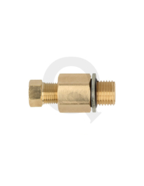 "Carterplug adapter M12 x 1,25 male - 1/8"" NPT female"