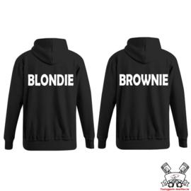 Hoodie Blondie & Brownie