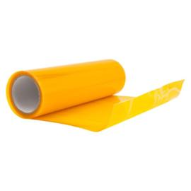 Koplamp-/achterlicht folie - Geel - 100x30 cm