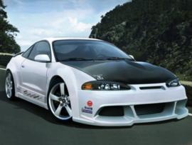 "Front Wheel Arches Mitsubishi Eclipse ""REBEL WIDE"" iBherdesign"