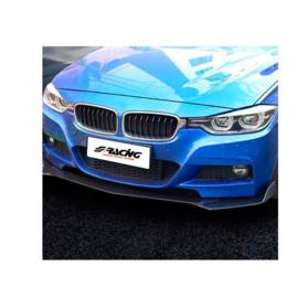 Simoni Racing Universele voorspoiler 'Lip Splitter' - 3-delig - ABS Zwart