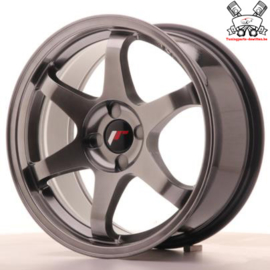 JR-Wheels JR3 Dark Hyper Black 17 Inch 8J ET35 4H Blank