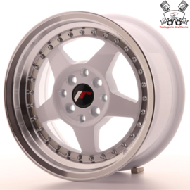 JR-Wheels JR6 White 15 Inch 7J ET35 4x100/114.3