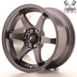 JR-Wheels JR3 Gun Metal 15 Inch 8J ET25 4x100/108