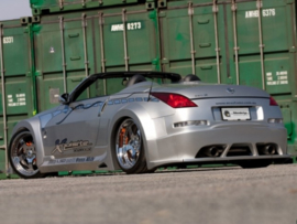 "Rear Wheel Arches Nissan 350Z ""VENOM WIDE"" iBherdesign"