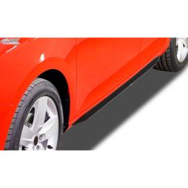 Sideskirts 'Slim' passend voor Peugeot 308 II SW 2013-2017 (ABS zwart glanzend)