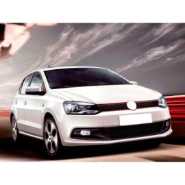 AutoStyle Complete ombouwset passend voor Volkswagen Polo 6R 2009-2014 'GTi-Look' incl. Grills & Mistlampen (PP)