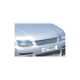 Motorkapverlenger passend voor Volkswagen Bora 1998-2004 + geïntegreerd half maantje (Metaal)