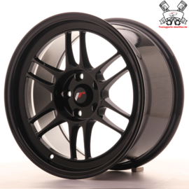 JR-Wheels JR7 Black 17 Inch 9J ET35 5x114.3