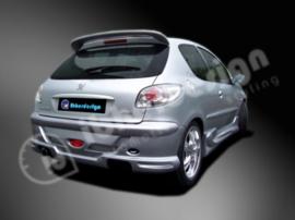 "Side Skirts Peugeot 206 ""MAXSTYLE"" iBherdesign"