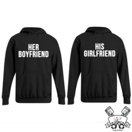 Hoodie Her Boyfriend & His Girlfriend