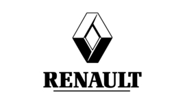 Renault Logo + Tekst