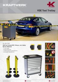VDE Gereedschapswagen Voor Elektrische Wagens 104 Delig