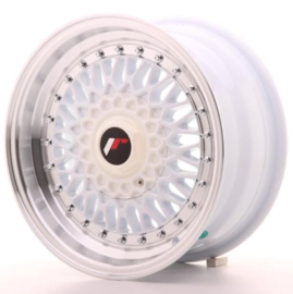 JR-Wheels JR9 Wheels White 15 Inch 7J ET20 4x100/108