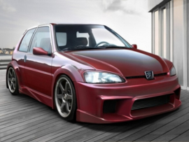 "Body Kit Peugeot 106 ""WIZARD WIDE"" iBherdesign"