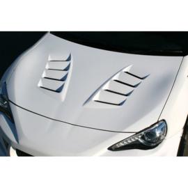 Chargespeed Motorkap passend voor Toyota GT86 / Subaru BRZ + Luchtinlaten (FRP)