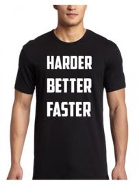 Shirt Harder, Better, Faster