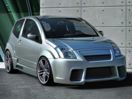 "Body Kit Citroen C2 ""FRANTIK WIDE"" iBherdesign"