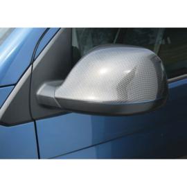 RGM Set Spiegelkappen passend voor Volkswagen Transporter T6 2015- Carbon-Look