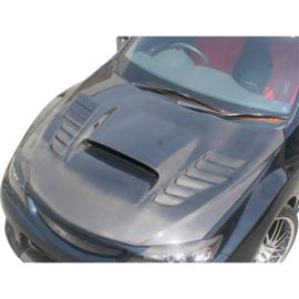 Chargespeed Motorkap passend voor Subaru Impreza WRX STi 2008- + Luchtinlaten (FRP)