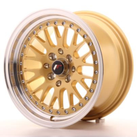 JR-Wheels JR10 Wheels Gold 15 Inch 8J ET15 4x100/114.3
