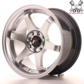 JR-Wheels JR3 Hyper Silver 15 Inch 8J ET25 4x100/114.3