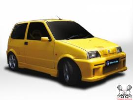 "Body Kit Fiat Cinquecento ""SAVAGE"" iBherdesign"