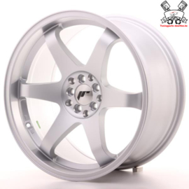 JR-Wheels JR3 Flat Silver 19 Inch 9.5J ET35 5x100/120